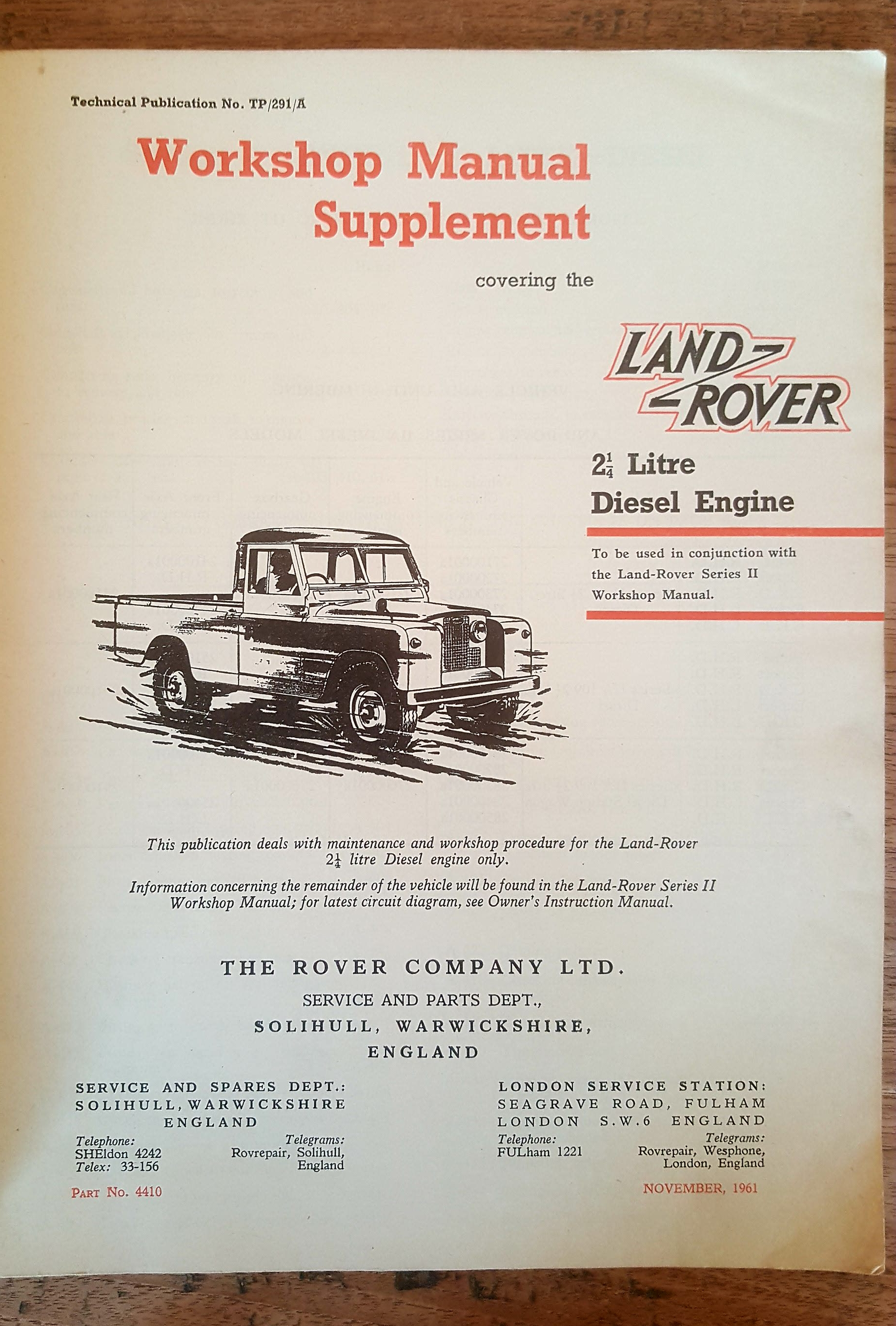 Land Rover Series 2 ...