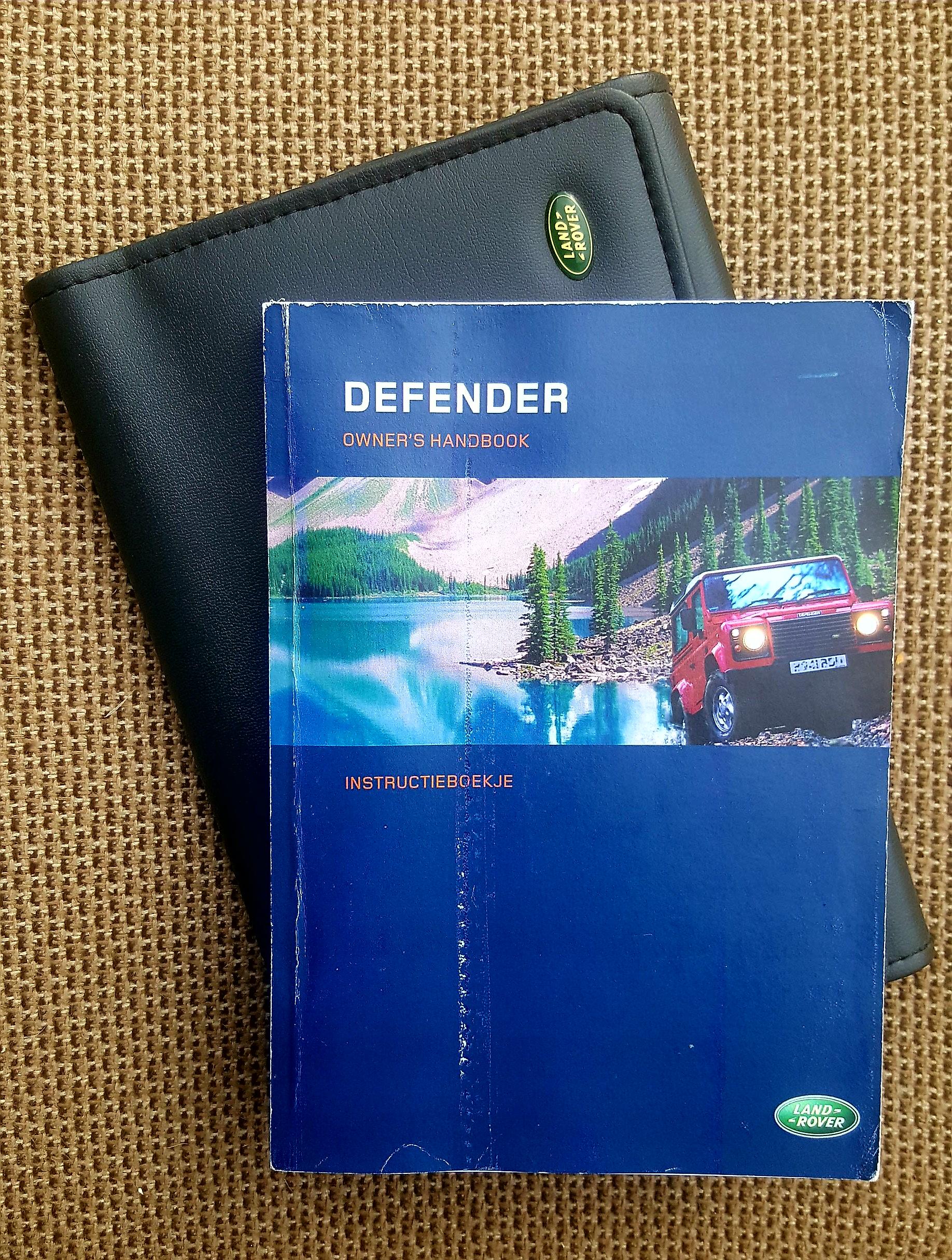 land rover defender td5 manual