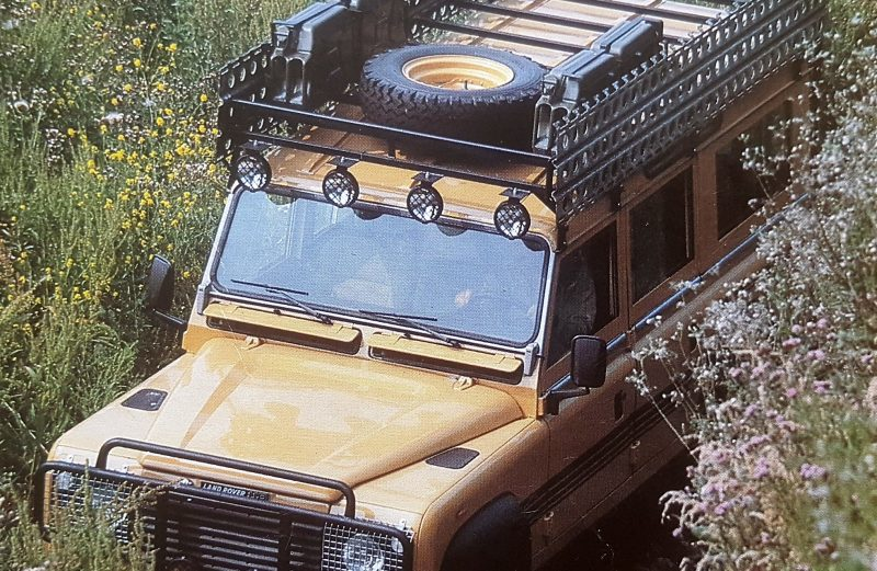 A very early special edition: the Camel Land Rover One Ten