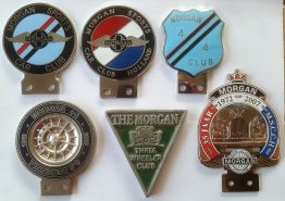 Morgan car badges