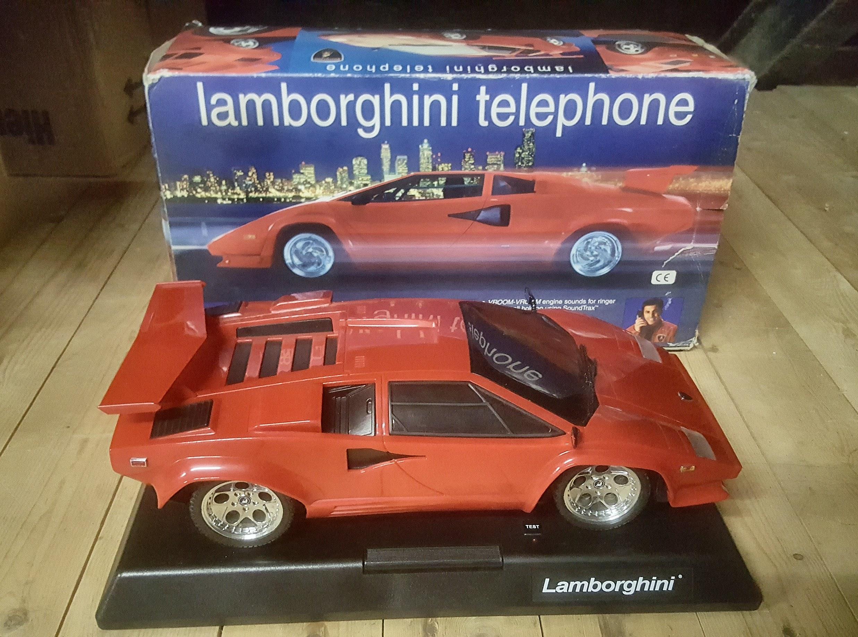 Lamborghini Countach 5000qv Phone Large Scale Model De Autoboerderij
