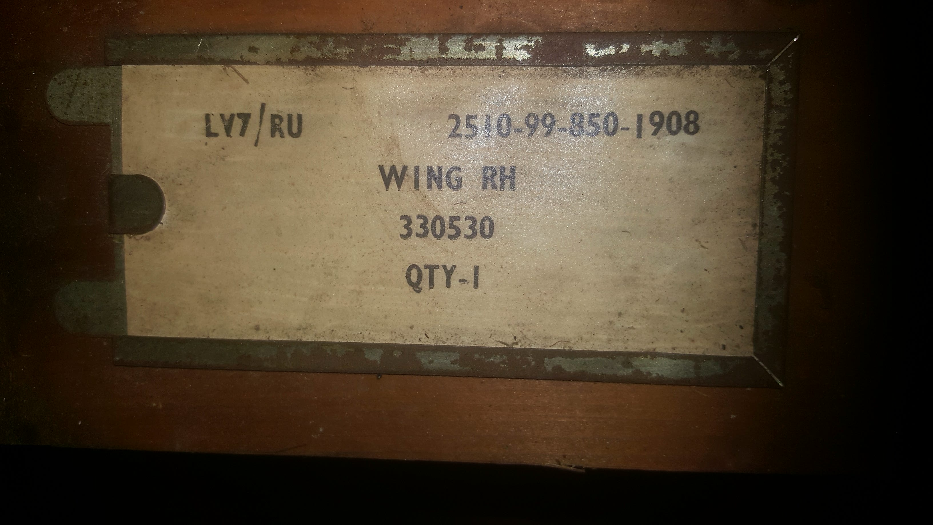 Land Rover Series 2 2a Front Wing Lh And Rh New Old Stock